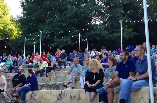 Enjoy Live Music in the Heard's Amphitheater